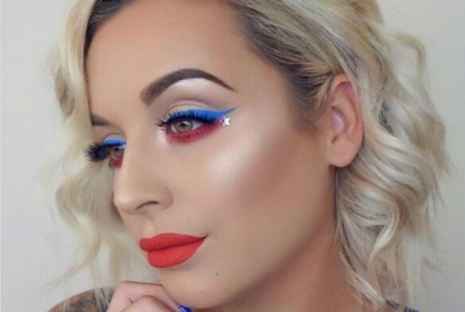 Patriotic-Makeup-Look