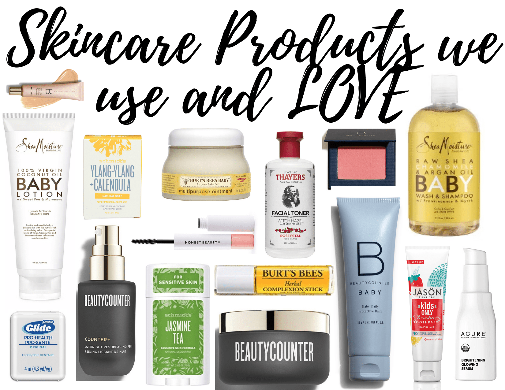 skincare products woman love to use