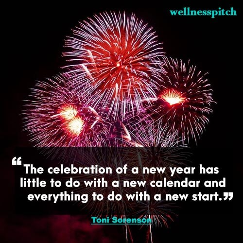 The celebration of a new year has little to do with a new calendar